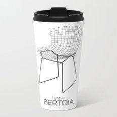 Chairs - A tribute to seats: I'm a Bertoia (poster) Metal Travel Mug