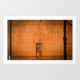 Floating Door Art Print