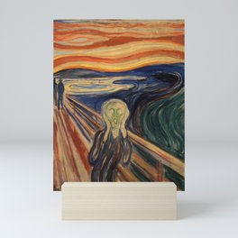 The Scream by Edvard Munch Mini Art Print