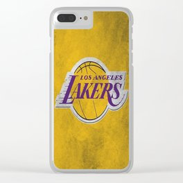 Los Angeles Laker Clear iPhone Case