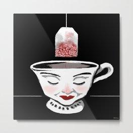 Tea (for zombies) Metal Print