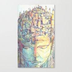 Fondamenta Canvas Print