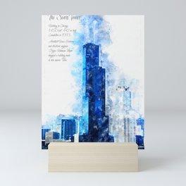 Sears Tower, Chicago Mini Art Print