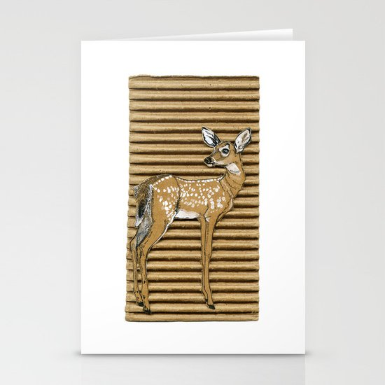 ciao cara Stationery Cards