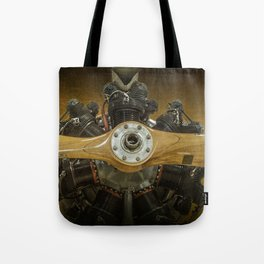 Airplane Propeller of a Fairchild PT-23 Cornell Monoplane Tote Bag