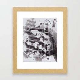 Splat. Framed Art Print