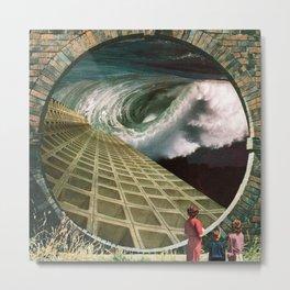 Portal of Alternative Histories Metal Print