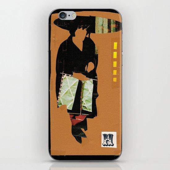 H Silhouette iPhone & iPod Skin