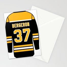 Patrice Bergeron Jersey Stationery Cards
