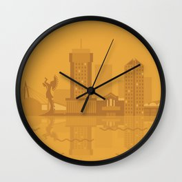 I Love Wichita Wall Clock