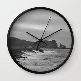 Grey Coast Wall Clock