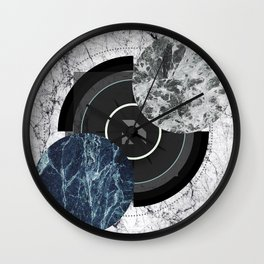 Compass To The Moon Wall Clock