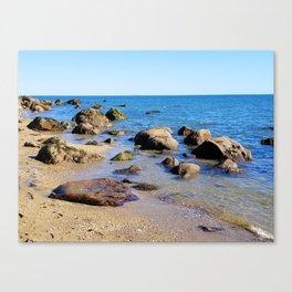 Photography Hammonasset Beach Canvas Print