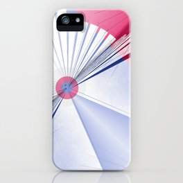 Pattern colors 2016 rose quarz and serenity blue Version 5 iPhone Case