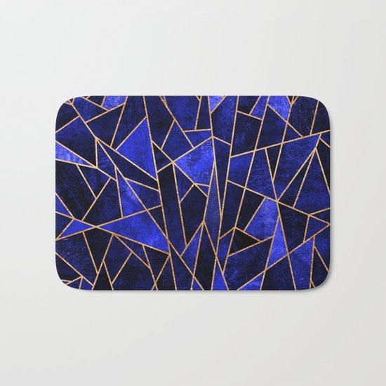 Shattered Sapphire Bath Mat
