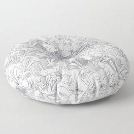 Love Bunnies Floor Pillow