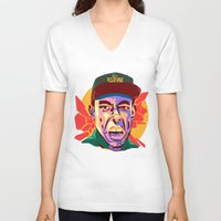 tyler spangler V-neck T-shirts featuring TYLER  by Brainjuice