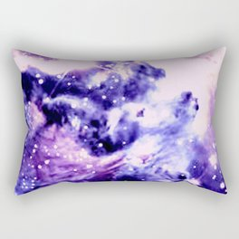 Violet Purple Galaxy Africa Rectangular Pillow
