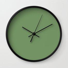 Jade Green Wall Clock