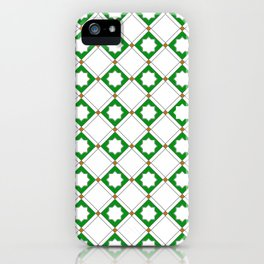 Geometric Pattern - Oriental Star Design  5 iPhone Case