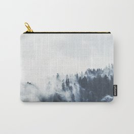 Foggy Forest Calm Landscape Carry-All Pouch