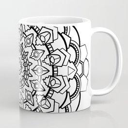Snow Mandala Coffee Mug
