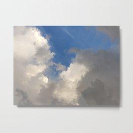 Florida: Cumulus Skies 1 Metal Print