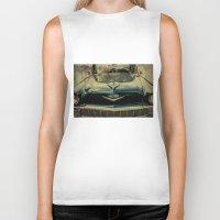 tame impala Biker Tanks featuring Chevy Impala by Honey Malek
