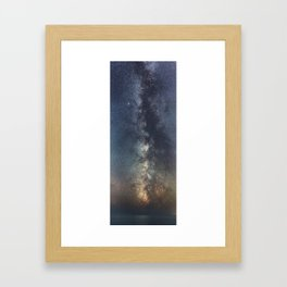 Portrait of a Galaxy Framed Art Print