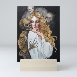 Death and the Maiden, Part 1: Flirting Mini Art Print