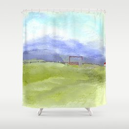 A Path to Serenity Shower Curtain