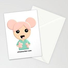 Yuko Sakura Kokeshi Doll Stationery Cards