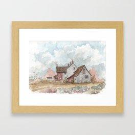 English Farmhouse Framed Art Print