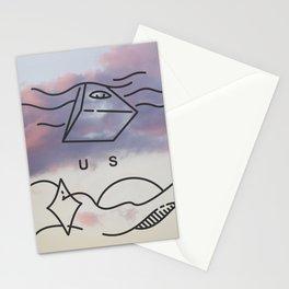 Smoking Mountain  Stationery Cards