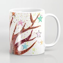 Star Tree Illustration Art Coffee Mug