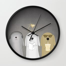 Dogs Wall Clock