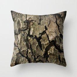 Bark 1 Throw Pillow