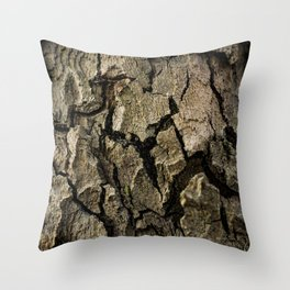 Bark 1 Throw Pillow