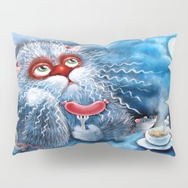 Pensive cat Pillow Sham
