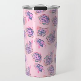 Rose pattern Travel Mug