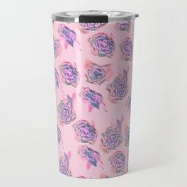 Rose pattern Travel Mug