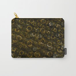 Golden Rings of Light Carry-All Pouch