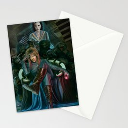 Return To Labyrinth Stationery Cards