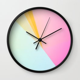 FOREVER YOUNG / Abstract Graphic Art Wall Clock