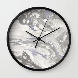 Grey Marble #society6 #decor #buyart Wall Clock