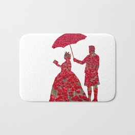 Poppy Queen Bath Mat