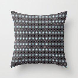 Romboide_Quarzo Rosa Throw Pillow