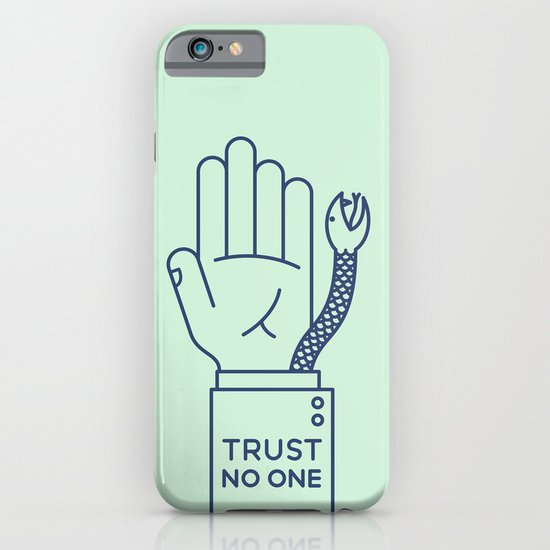 Trust No One iPhone & iPod Case