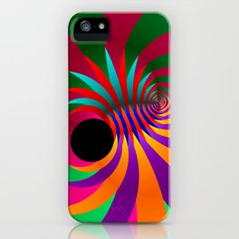the black point -6- iPhone Case