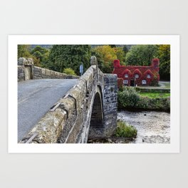 Pont Fawr Art Print